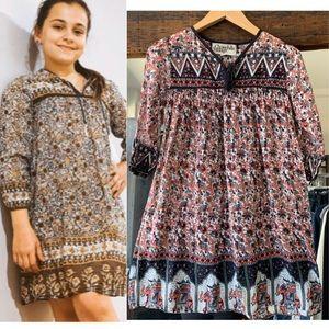 Chowchilla  bohemian Dress Size 8